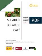 Informe Secador Solar de Café
