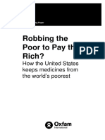 Robbing the Poor to Pay the Rich? How the United States keeps medicines from the world's poorest