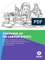 Checking Up on Labour Rights