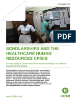Scholarships and the Healthcare Human Resources Crisis