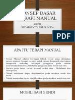 Konsep Dasar Terapi Manual