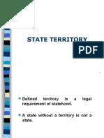 Ch 5 State Territory