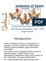 Biomechanical of the Spine
