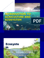 Importance of Ecosystem in Agriculture