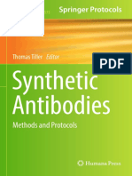 Synthetic Antibodies Methods and Protocols (Methods in Molecular Biology)