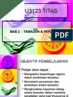 Week 2 Tamadun & Peradaban (2)