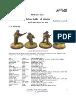 Farnworth Colours US Infantry WW2 100525