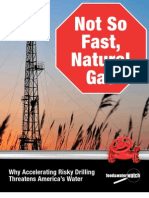 Not So Fast, Natural Gas