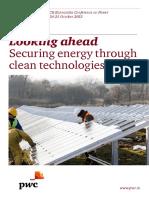 Looking Ahead Securing Energy Through Clean Technologies