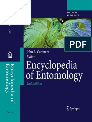 Encyclopedia Of Entomology 2nd Edition Pdf Biological Pest