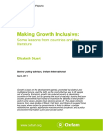 Making Growth Inclusive