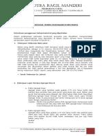 Spesifikasi Teknis Jalan Perumahan Korpri