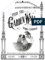 Over the Garden Wall Fan Made Sheet Music c. 2017
