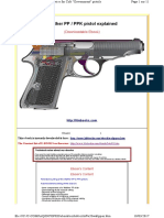 Walther PP Pistol Explained