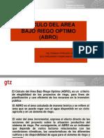 Presentación ABRO ORURO