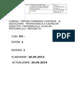 Procedura Formare 2014 2015