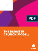 The Disaster Crunch Model