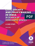 Civil Society and Making in India