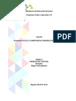 ANEXO No. 3 Producción Textual - Ejemplos y Mapas Conceptuales 06042016