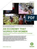 An Economy that Works for Women