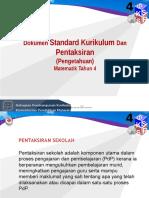 DSKP Matematik Tahun 4 (Pengetahuan)