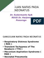 Gangguan Nafas Pada Neonatus