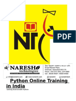 Online Python Training in India - By Real-Time Expert