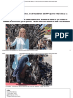 Noticias de Madri03 D_ Vallecas, Tetuán y Cadalso, Los Tres Reinos Del PP Que Se Resisten a La Khaleesi Cifuentes