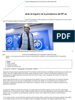 05 Operación Púnica_ La Púnica Adelanta La Salida de Aguirre de La Presidencia Del PP de Madrid