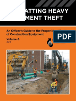 Combatting Heavy Equipment Theft