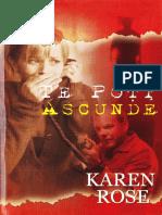 Karen Rose - Nu Te Poti Ascunde