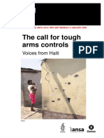 The Call for Tough Arms Control