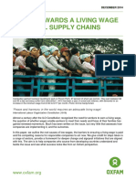 Steps Towards a Living Wage in Global Supply Chains