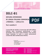 Ail Dilc-b1 Test Modello 8