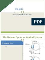 Optic Physiology