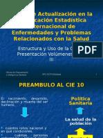37362712 01 REPLICA Estructura y Uso de La CIE 10 Presentacion Volumenes I II y IIIs