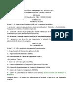 Estatuto da Pos Graduação Em Estatística.odt
