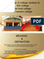 166664088 Retail Strategy Ppt on Opening College Canteen