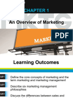 Chapt 1 Overview of Marketing