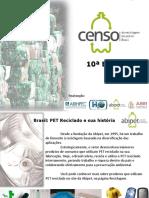 Décimo Censo Da Reciclagem de PETno Brasil