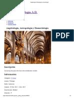 Angeleología, Antropología y Hamartiología