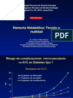 Memoria Metabolica Agosto 9 20132