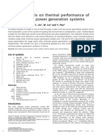 2010 Ming-Simple Analysis on Thermal Performance of SCPP Generation Systems