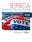 America Goes to The Polls 2016, a report that ranks all 50 states