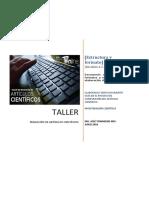 Taller - Formato de Un Artículo Científico.
