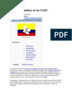 Estructura+militar+de+las+FARC