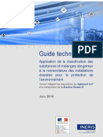 Guide Ineris Classification Des Substances 2014-06