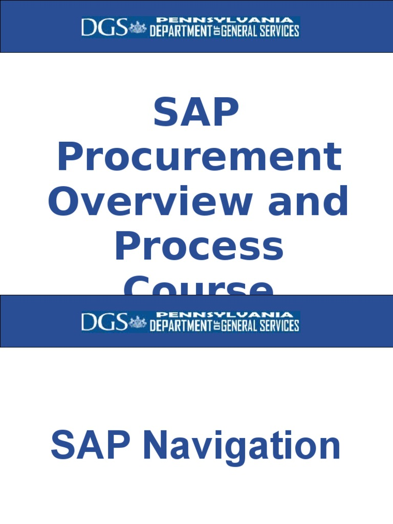 169152324-SAP-Procurement-Overview-ppt ppt | Invoice