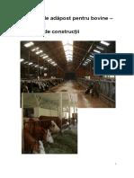 Sisteme de Adapost Pentru Vaci Exemple de Constructii