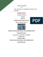 Automobiles Industry Data Analysis and Interpretation (RESEARCH METHODOLOGY)
